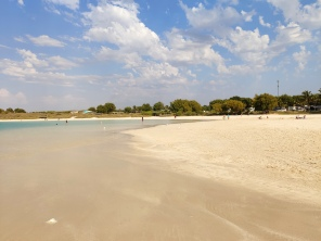Strand von Coral Bay