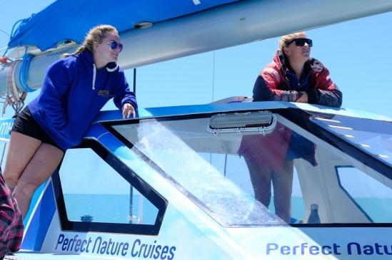 Skipperin Mel und Crew