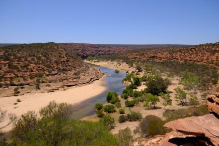 Schlaufe des Murchison River