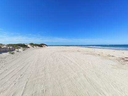 Strand bei Point Moore (Geraldton)