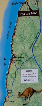 Bigurda Trail Schautafel