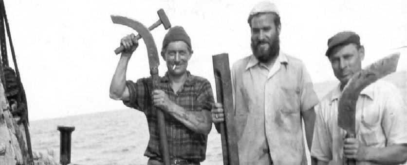 Crew Memebers (historisches Bild)