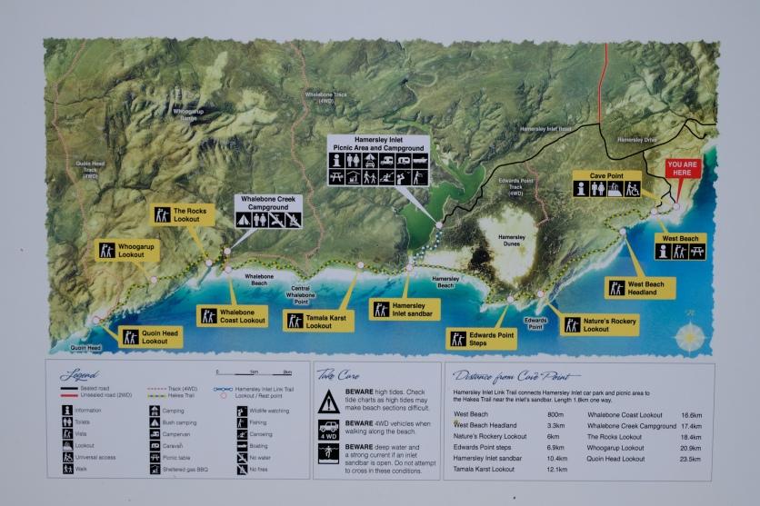 Übersichtskarte Fitzgerald River NP