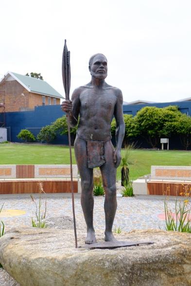 Aboriginal Mokare Statue