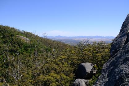 Ausblick vom Granite Skywalk zur Stirling Range