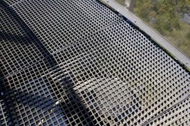 Bodengitter des Granite Skywalk