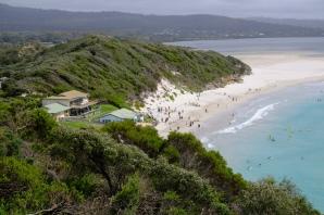 Ocean Beach (von Lions Lookout)