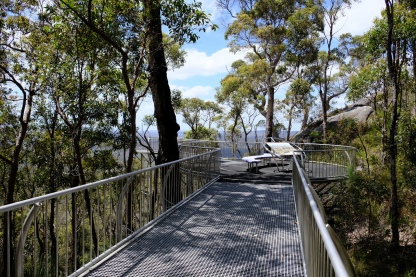 Mt Frankland Wilderness Lookout