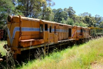Diesellokomotiven in Pemberton