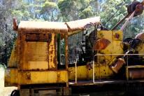 Kranwagen in Pemberton