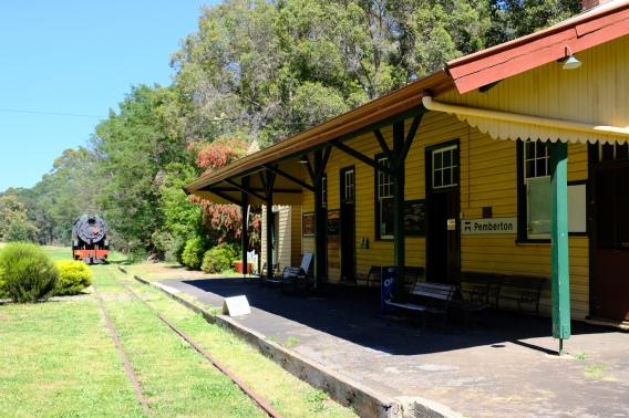 Bahnhof Pemberton