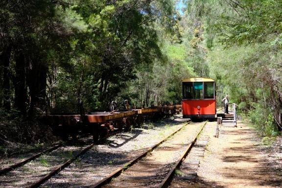 Pemberton Tram Halt bei The Cascades