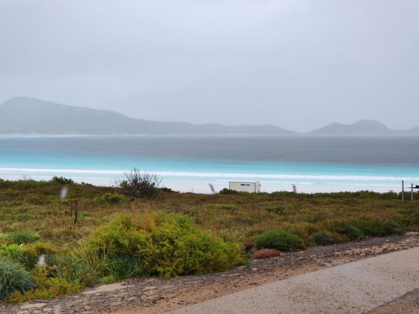 Lucky Bay im Regen