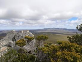 Ausblick vom East Mount Barren