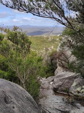 Ausblick vom East Mt Barren