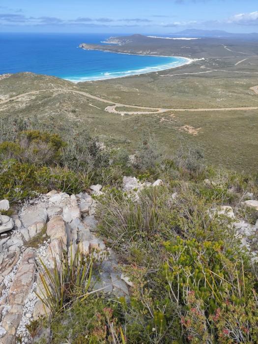 Aussicht vom East Mount Barren