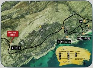 East Mount Barren Walk Trail