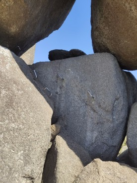 Kletterhilfen auf den Granite Skywalk