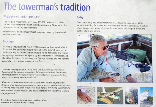 Mt Frankland Towerman's Tradition
