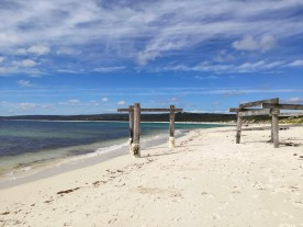 Alter Pier von Hamelin Bay