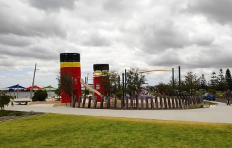 Spielplatz an Koombana Bay Foreshore