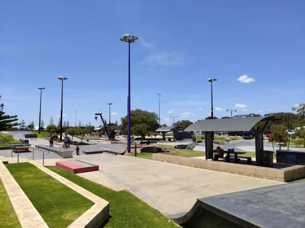 Skatepark bei Busselton Foreshore