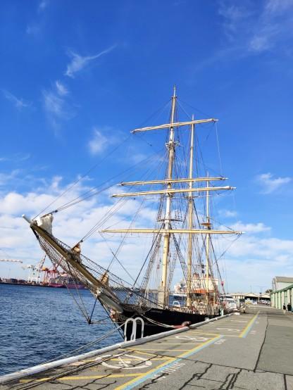 Segelschiff Leeuwin