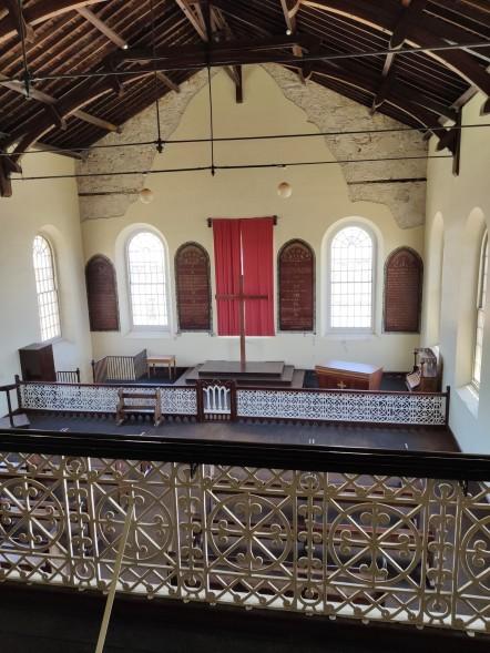 Anglikanische Kirche in Fremantle Prison