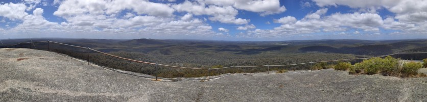Mount Frankland Panorama