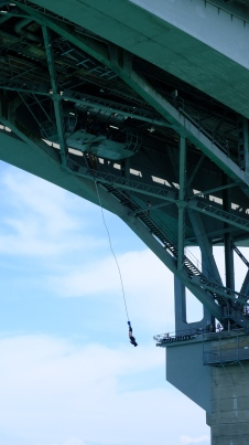 Bungee Jump @ Auckland Harbour Bridge