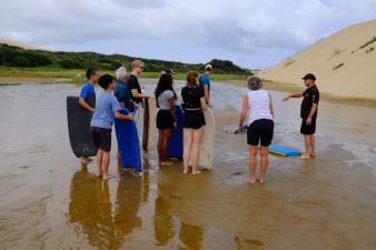 Sandboarding Einführung