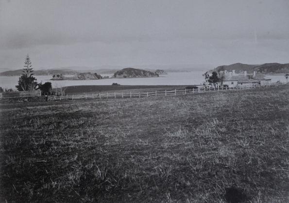 Historisches Bild von Waitangi
