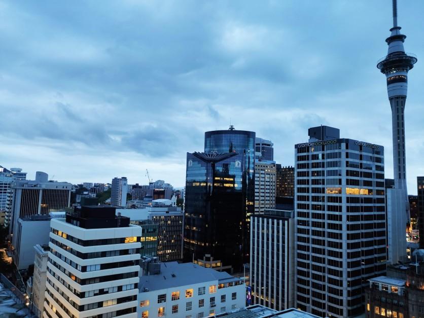 Blick auf Auckland CBD