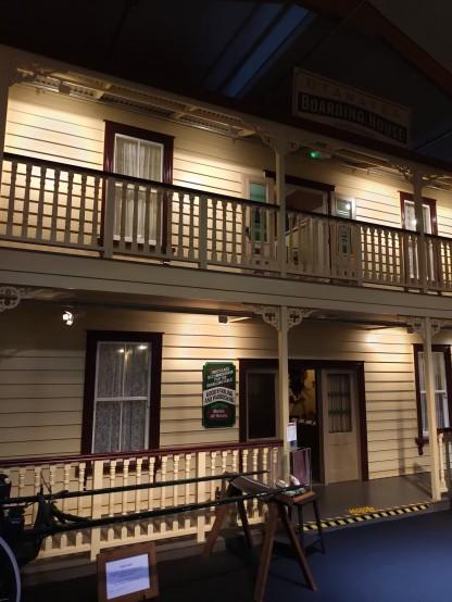 Haus im Kauri Museum