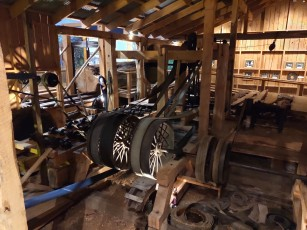 Sägewerk im Kauri Museum
