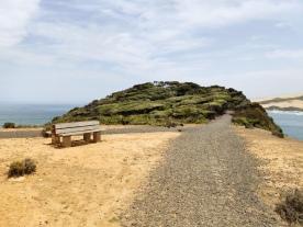 Weg zum Scenic Outlook