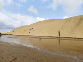 Sanddüne zum Sandboarden