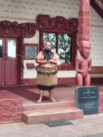 Maori Begrüssung