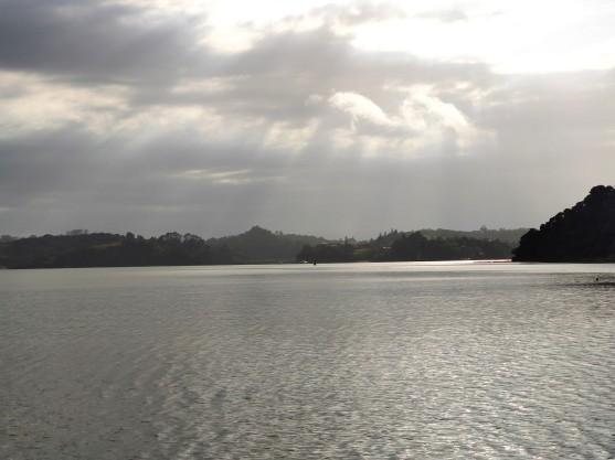 Blick zur Pipiroa Bay