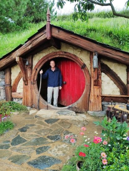 Hobbiton Movie Set (grosses Haus)