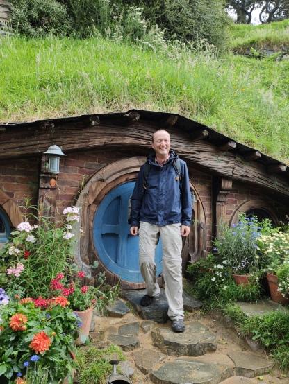 Hobbiton Movie Set (kleines Haus)