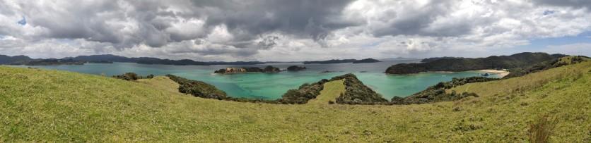 Panorama von Urupukapuka Bay