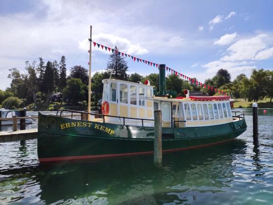 Ernest Kemp Dampfschiff-Replika