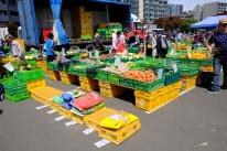 Markt in Wellington