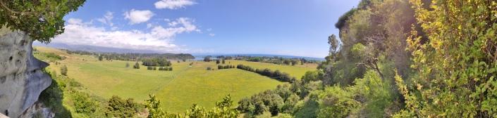 Aussicht von The Grove