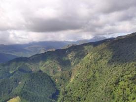 Aussicht von Takaka Hill