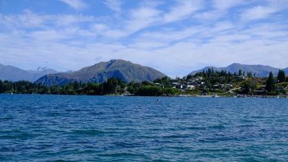 Aussicht in Wanaka
