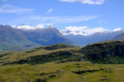 Aussicht zum Mount Aspiring
