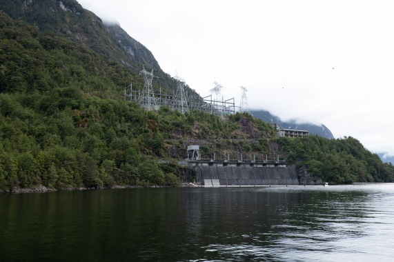 Manapouri Hydro Station