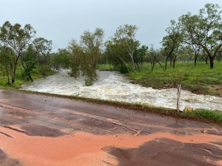 Gibb River Road (flooded)